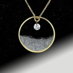 i'm amaaaaazed that we can own & wear something fm space!!!  meteorite jewelry - Google Search