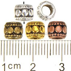 Zinc Alloy Large Hole Beads,Plated,Cadmium And Lead Free,Various Color For Choice,Approx 7*6mm,Hole:Approx 3.5mm,Sold By Bags,No 000909