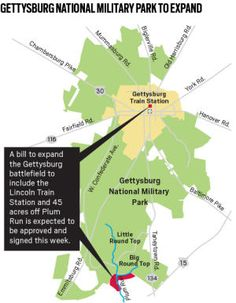 Bill to Expand Gettysburg Battlefield Primed to Clear Senate