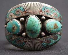 Cuff | Tommy Singer. 1960s - 70s (Navajo)