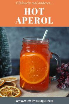 Werbung / Glühwein mal anders...das ist Hot Aperol. Ja, Aperol kann man auch in einer warmen Variante genießen.  #aperol #glühwein