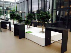 Herzlich Willkommen! Loungemöbel by kühnle'waiko #office #furniture #workspace #interior #design #lounge #chilling