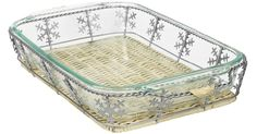 Pyrex Baking Dish & Snowflake Basket Just $8.99 Shipped (Regularly $32) – Hip2Save