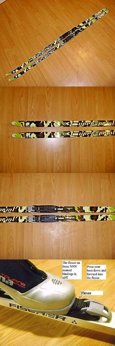 Skis 36267: Camo Waxless 180 Cm Skis Cross Country Xc Nordic Nnn Binding Supersprint Classic -> BUY IT NOW ONLY: $116.84 on eBay!