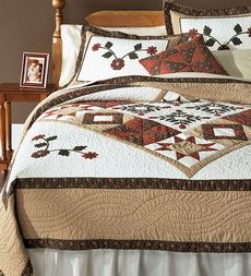 I like this bedframe. In black. $1349 for king size. | Red Quilts ... : plow and hearth quilts - Adamdwight.com