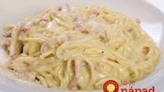 Ez a tejfölös spagetti recept mindenkit elkápráztat! Nálunk ez lett a hétvégi vacsorák kedvence! Meat Recipes, Gourmet Recipes, Pasta Recipes, Vegetarian Recipes, Cooking Recipes, Healthy Recipes, Spagetti Recipe, Pasta Dishes, Food Print
