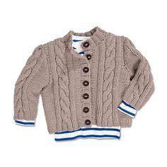 Modell 255/4, Kinderjacke aus Merino Dick von Junghans-Wolle Knitting For Kids, Baby Knitting, Knitting Designs, Projects For Kids, Little Boys, Knitwear, Knit Crochet, Baby Boy, Children