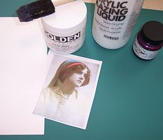 13 types of image transfer methods from Cyndi at Mixed Media Artist blog