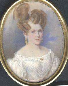 https://flic.kr/p/4jNu7K | Saar, Karl von - portrait of 19C lady