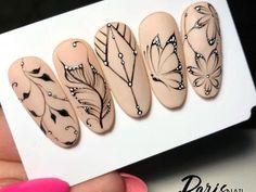Beautiful Nail Designs To Finish Your Wardrobe – Your Beautiful Nails White Nail Designs, Beautiful Nail Designs, Nail Art Designs, Nails Design, Basic Nails, Mandala Nails, Nail Swag, Stylish Nails, Nail Art Hacks