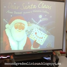 Really cute mentor text for teaching letter writing to Santa!