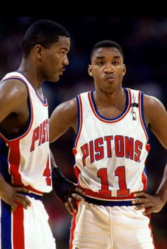 Dumars/Thomas...Bad Boys Pistons