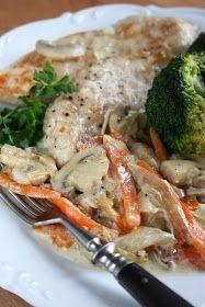 sio-smutki! Monika od kuchni: Jednogarnkowe: filet z kurczaka z warzywami Turkey, Chicken, Food, Exercise, Diet, Recipies, Ejercicio, Turkey Country, Essen
