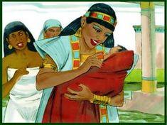 A última vez aprendemos sobre como Moisés foi salvo de ser jogado no rio Nilo, em vez disso sua mãe construiu para ele uma cesta e deixou-o à beira do rio, entre os juncos, onde as mulheres egípcia…