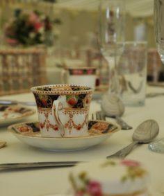 Fabulous English afternoon tea wedding