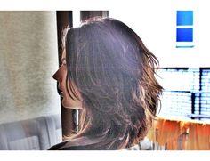 razor cutting, hair, hairstyle, long bob, lob, fryzury bob
