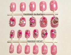 kirakira hime gyaru lolita nails