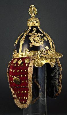 Helmet    China, 19th century    The Hermitage Museum