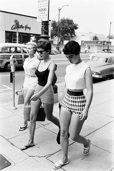 Female Short Pants photographed by Allan Grant c. 1950s (via)