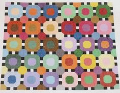 The Circles needlepoint canvases by Pat & Lee