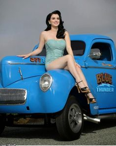 Foto's uit berichten Trucks And Girls, Car Girls, Pin Up Girls, Porsche 914, Sexy Cars, Hot Cars, Pin Up Car, Hot Rod Pickup, Rockabilly Cars