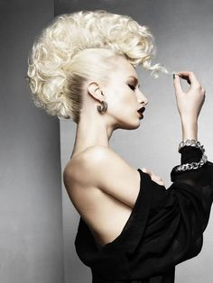 Crisp Blonde Textured Quiff from the Schwarzkopf 2013 YAT Team