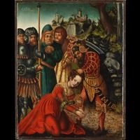 The Martyrdom of Saint Barbara about 1511 - 1514 Workshop Lucas Cranach the Elder