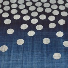 cloth and goods indigo table runner