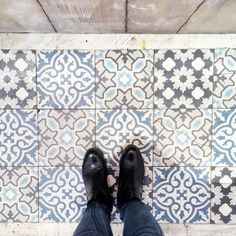 And these tiles.... #ihavethisthingwithfloors #tiles #tileaddiction by jillchao