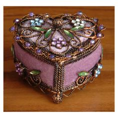 Trinket Box. |Pinned from PinTo for iPad|