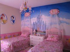 disney room decor - princess room 2