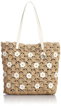 tory burch crochet squares bag
