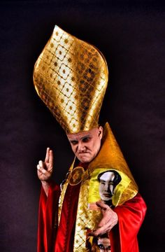 Doctor Faustus- Costume for the Pope