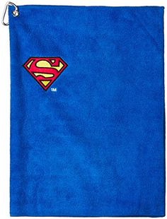 88d6163ad51 Amazon.com   Creative Covers for Golf 26710 Superman Golf Towel   Sports    Outdoors