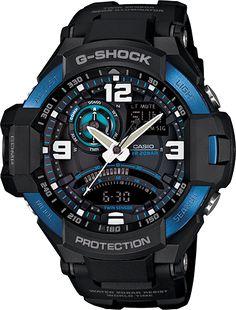 G-Shock Aviation GA1000-2B $250