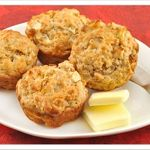 Apple-Oatmeal Muffins
