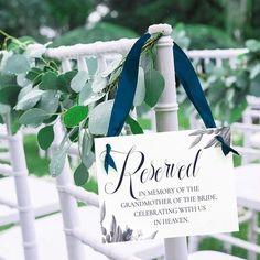 Wedding Remembrance, Wedding Memorial, Dream Wedding, Wedding Day, Wedding Things, Gold Wedding, Wedding Stuff, Destination Wedding, Wedding Chairs