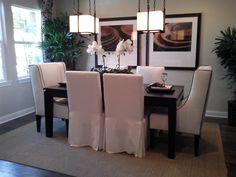 cozy formal dinning room