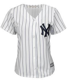 59de667269f6 Majestic Women's New York Yankees Cool Base Jersey Vita Skjortor,  Inspirerade Kläder, T Shirts