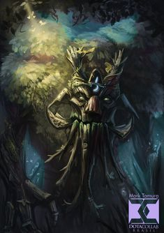 Dota 2 Treant Protector by Markdotea on deviantART