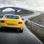 The Latest 2016 Bentley Continental GT Speed Car Back View