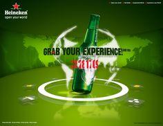 Heineken | Microsite by Ilias Tsoutsoulis, via Behance