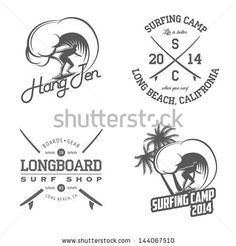 http://image.shutterstock.com/display_pic_with_logo/1291954/144067510/stock-vector-set-of-vintage-surfing-labels-and-badges-144067510.jpg