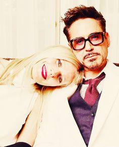 Gwyneth and Robert.