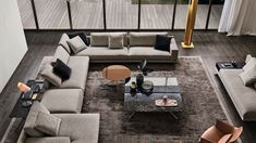 First introduced at Salone del Mobile earlier this year, Poliform Mondrian Sofa blends graphic and modern elements with a strong architectural influence. Bohemian Living Rooms, Living Room Modern, Living Room Designs, Small Living, Construction, Mondrian, Architecture, Bristol, Living Room Furniture