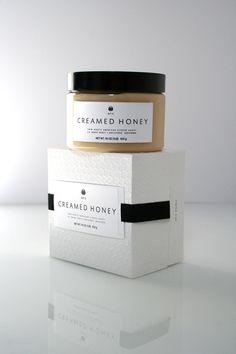 Creamed Honey packaging