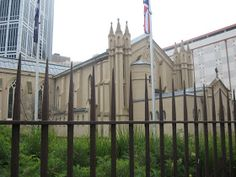 St Francis Church - Melbourne's Oldest Buildings. In Mary McKillop took her first holy communion at the church, the same year that Ned Kelly's parents were married there. Church Building, Old Building, Melbourne Victoria, Small Buildings, City Council, St Francis, Slums, Melbourne Australia, The Expanse