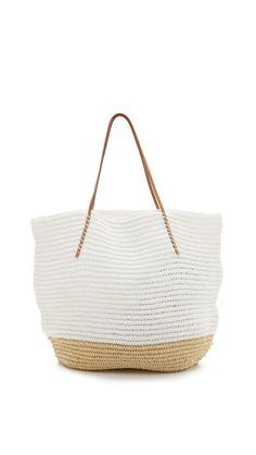 Twisted Colorblock Tote