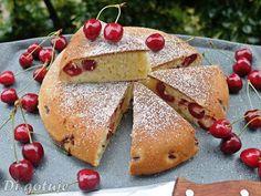 Di gotuje: Ciasto jogurtowo-czereśniowe z patelni (bez piecze...