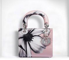 Christian #Dior, borse Autunno Inverno 2014-2015 - Mini Lady Dior con stampa #bags #bag